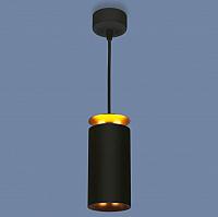 Потолочный светильник Elektrostandard DLS021 9+4W 4200K (черный матовый/золотистый) -