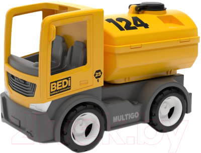 Автомобиль игрушечный EFKO Строительный грузовик-цистерна / 27072EF-CH