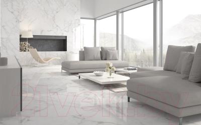 Плитка Golden Tile Calacatta Extra (595x595, белый глянец)