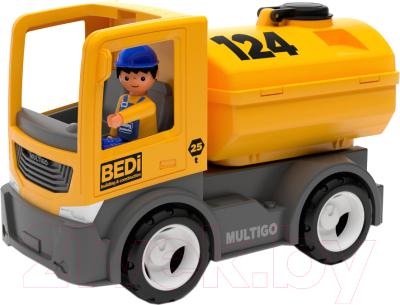 Автомобиль игрушечный EFKO Строительный грузовик-цистерна / 27272EF-CH