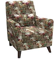 Кресло мягкое Нижегородмебель и К Либерти ТК 210/1 (фибра 2505/2) -