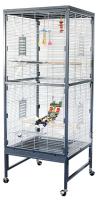 Клетка для птиц Sky Pet Rainforest VillaI / 8002/SK (серый) -