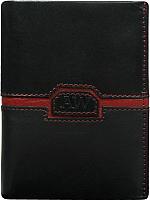 Портмоне Cedar Always Wild N4-CVD (черный/красный) -