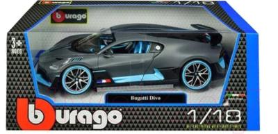 Масштабная модель автомобиля Bburago Бугатти Диво / 18-11045
