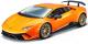 Масштабная модель автомобиля Bburago Ламборгини Хурикан / 18-21092 (оранжевый металлик) -