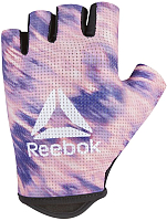 Перчатки для фитнеса Reebok RAGB-13625 (L, розовый) -