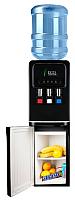Кулер для воды Ecotronic V31-LCE со шкафчиком (черный) -