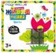 Развивающая игра Magneticus Анимированная магнитная мозаика. Цветы / MK-003 -