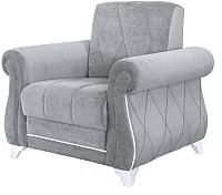 Кресло мягкое Нижегородмебель и К Роуз ТК 123 (энерджи грей 18) -