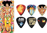 Набор медиаторов Dunlop Manufacturing Jimi Hendrix Bold As Love / LHPT02M -