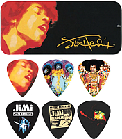 Набор медиаторов Dunlop Manufacturing Jimi Hendrix Electric Lady Land / JHPT03H -