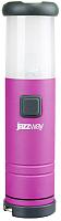 Фонарь JAZZway L1-L1W-4AAA / 4690601000996 (розовый) -