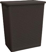Корзина для белья Plastic Republic Rattan BQ1203 -