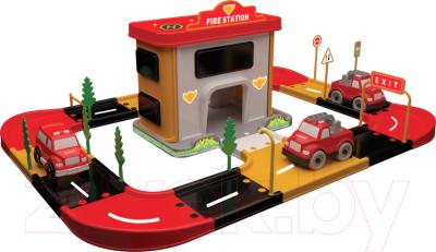 Автотрек Terides Пожарная станция / Т2-069 стул нота т2