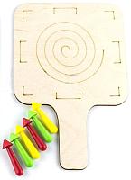 Настольная игра WoodLand Toys Волчок Калейдоскоп / 136108 -