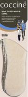 Стельки Coccine Aluminium Extra шерсть (р.39) -