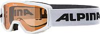 Маска горнолыжная Alpina Sports 2019-20 Piney SH S2 6-9 / A7268411 (белый) -