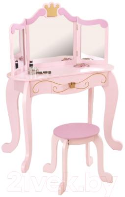 Туалетный столик игрушечный KidKraft Принцесса. С зеркалом / 76123-KE