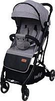 Детская прогулочная коляска INDIGO Rona (серый) -