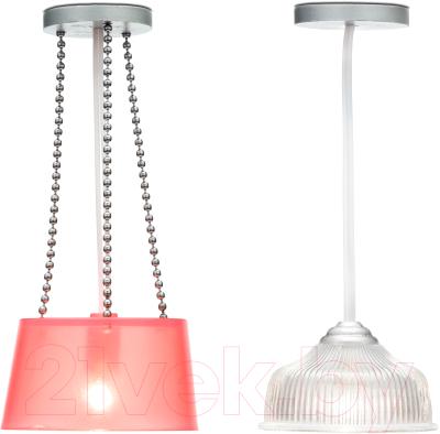 Комплект аксессуаров для кукольного домика Lundby Две потолочные люстры / LB-60604300