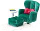 Комплект аксессуаров для кукольного домика Lundby Кресло с пуфиком / LB-60209300 -