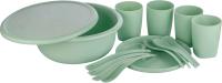 Набор пластиковой посуды Plast Team Stockholm PT1088 -