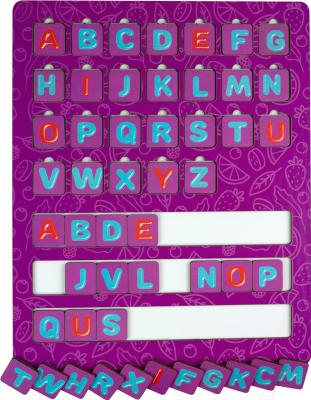 Развивающая игрушка Paremo Английский алфавит. Растения / PE720-177