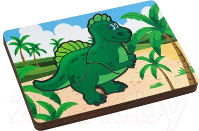 Развивающая игрушка Paremo Вкладыши. Динозаврик / PE720-11
