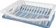 Сушилка для посуды Plast Team Stockholm PT1153 (туманно-голубой) -