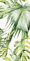 Элемент панно Нефрит-Керамика Фернс Низ / 07-00-5-18-00-81-1604 (600x300, салатный) -