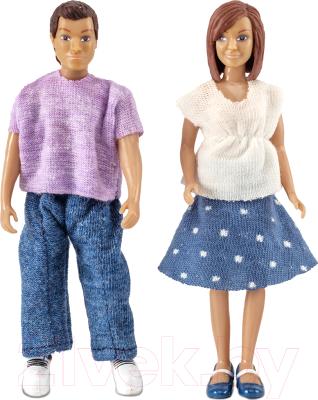 Набор кукол Lundby Семья с двумя малышами / LB-60806300