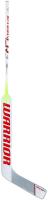 Клюшка вратарская Warrior G-Stk CR3 23.5 Mid / CR3I23L7-M-WRD (левая, белый/красный) -