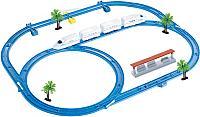 Железная дорога игрушечная Huan Nuo Happy Train / 888-4 -