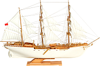 Сборная модель Огонек Учебно-парусное судно Товарищ 1:200 / С-178 -