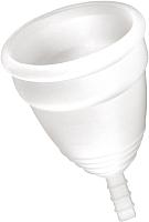 Менструальная чаша Yoba Nature Coupe / 117483 (S, белый) -
