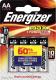 Комплект батареек Energizer Max E91/AA / E300157104P (4шт) -