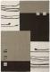 Ковер Lalee California 103 (200x290, черный/серебрянный) -