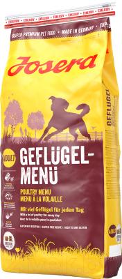 Корм для собак Josera Poultry Menu поднос с ручками menu menu 46х31см пластик pds 46