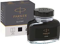 Чернила для перьевой ручки Parker 1950375 (черный) -