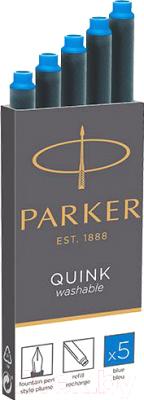 Чернила для перьевой ручки Parker Washable 1950383
