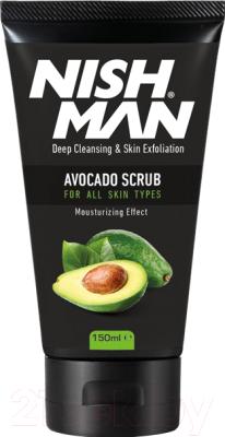 Скраб для лица NishMan Face Scrub Avocado скраб для лица erborian black scrub 50 мл