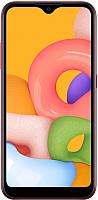 Смартфон Samsung Galaxy A01 / SM-A015FZRDSER (красный) -