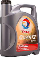 Моторное масло Total Quartz 9000 Energy 5W40 / 10220501 (4л) -