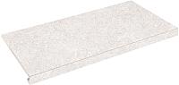 Ступень Zeus Ceramica Concrete Bianco SZRXRM1BRR (345x600, капинос) -