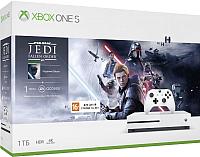 Игровая приставка Microsoft Xbox One S 1TB + Star Wars Jedi: Fallen Order / 234-01099 -