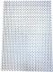 Коврик грязезащитный No Brand Пила мини 82x58 8.5мм (серебристый) -