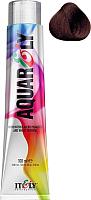 Крем-краска для волос Itely Aquarely 4CH/4.034 (средне-каштановый шоколадный) -