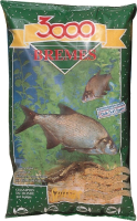 Прикормка рыболовная Sensas 3000 Bremes / 00971 (1кг) -
