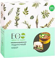 Набор косметики для тела Ecological Organic Laboratorie Питание для кожи крем 200мл+мыло 130г -
