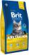 Корм для кошек Brit Premium Cat Adult Salmon / 513123 (1.5кг) -